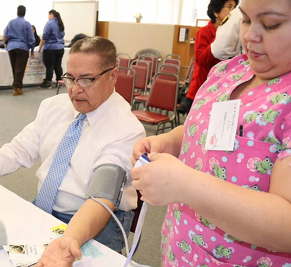 The Village of Dolton recently hosted a Community Wellness Day to provide residents with free health screenings for high blood ...