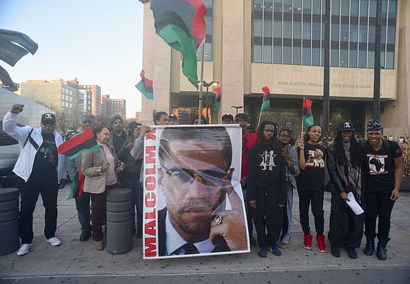 New Yorkers commemorated international-renowned activist-icon Malcolm X—El Hajj Malik El Shabazz—Wednesday, Feb. 21, 2018, the 53rd anniversary of his 1965 ...