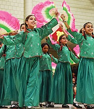 Students at the Josiah Quincy School in Chinatown celebrated Chinese New Year with a variety of cultural performances.