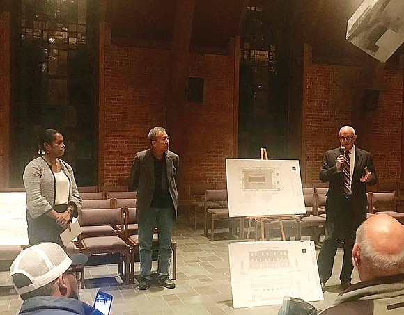 Fourth Ward Alderman, Sophia King, recently hosted a community meeting to discuss the plans and concerns for the conversion of ...