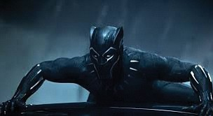 """Black Panther,"" the Disney and Marvel Studios' epic superhero film featuring a largely African-American cast and director, is blowing away ..."