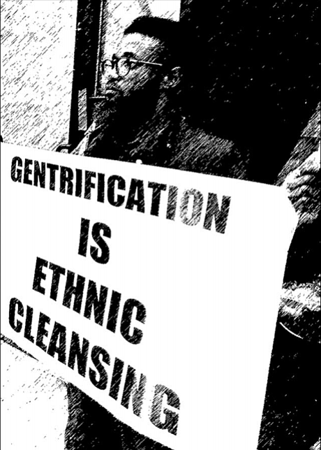 "A citywide ""We Ain't Going Nowhere! Tribunal on Ethnic Cleansing of the Black Community"" will be held Saturday, March 3, ..."