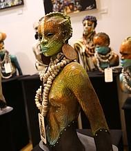 Sculpture by Woodrow Nash