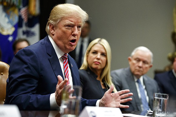 The nation should keep assault rifles out of the hands of anyone under 21, President Donald Trump says, defying his ...