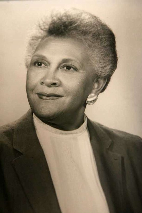 The first African-American woman to sit in Connecticut's state...