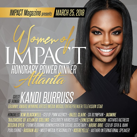 On March 25th, 2018 Editor and Chief of IMPACT Magazine Tunisha Brown, will host the third Women of IMPACT Honorary ...