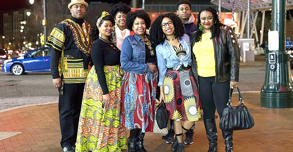 The vibrant African fashion of Black Panther was on display at multiplexes around the country Feb. 15 as moviegoers flocked ...