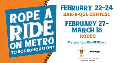 Visitors to Rodeo Houston can rope a ride with METRO to avoid traffic and parking hassles. There are several transit ...