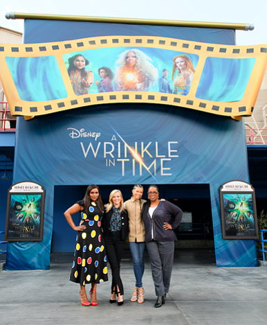 "Disney's ""A Wrinkle in Time,"" an epic adventure from visionary director Ava DuVernay based on Madeleine L'Engle's timeless classic, takes ..."