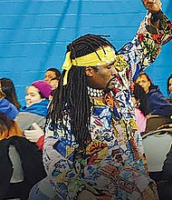 The Garfield Park Conservatory hosted a performance of traditional West African dancing and drumming in honor of Black History Month. The performance, called Amazing Africa, was presented by Urban Gateways and was designed to expose viewers to West African culture and to emphasize the theme of unity and