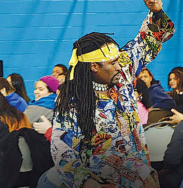 The Garfield Park Conservatory hosted a performance of traditional West African dancing and drumming in honor of Black History Month. The performance, called Amazing Africa, was presented by Urban Gateways and was designed to expose viewers to West African culture and to emphasize the theme of unity and empowerment. Photo Credit: Urban Gateways