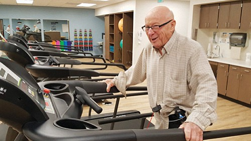 Legacy Emanuel has opened a new cardiac and pulmonary rehabilitation program, which includes a 4,200-square-foot gym, to help heart and ...