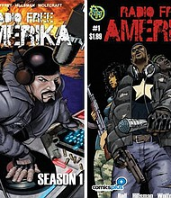 "Set in a post-World War III society, ""Radio Free Amerika"" is the new graphic novel by Barron Bell, a Portland based professor and graphic novelist, and follows the vinyl-spinning DJ Moses while he uses hip-hop to lead a resistance against a Russian-occupied United States."
