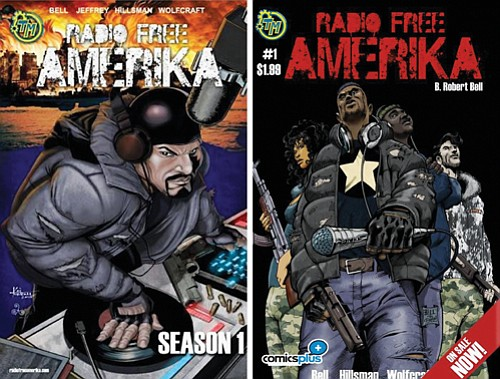 Hip Hop is alive and well in a post World War III world in a new graphic novel by Barron ...