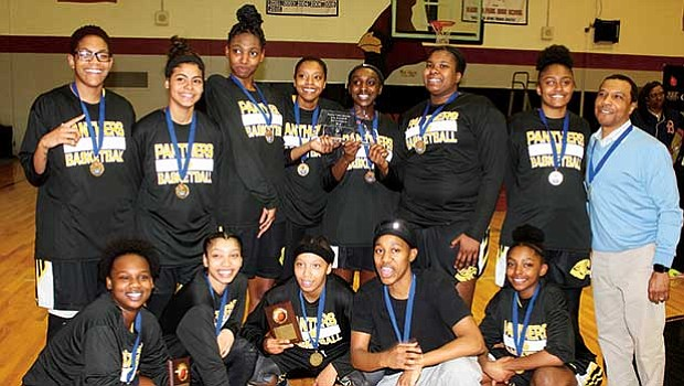 The Fenway High girls basketball team are BPS city league champions ending the season at 18-2. The games were played at Madison Park on Feb. 22 before a well-attended crowd of enthusiastic fans cheering on the team. The team hopes for a successful run in the state tournament play-off games getting underway this week.