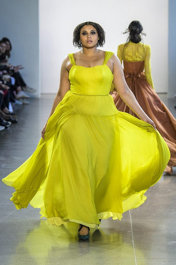 Gorgeous gowns in bold colors for fall 2018 | New York Amsterdam ...