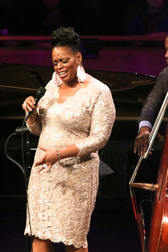 On the weekend eve of Valentine's Day, the incomparable jazz singer Dianne Reeves thrilled the sold-out audience in the Rose ...