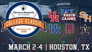 The 2018 Shriners Hospitals for Children® College Classic concluded tonight at Minute Maid Park with Kentucky being named the Tournament ...