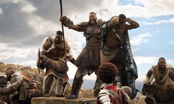 "Disney-Marvel's ""Black Panther"" is continuing its super-heroic run, grossing a stunning $501.1 million in North America in only 17 days ..."