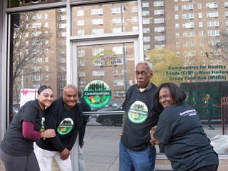 With fast-food restaurants and food carts at every turn, fulfilling the guilty pleasures of Harlem's residents, the Community for Healthy ...