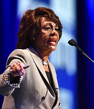 Rep. Maxine Waters, D-Calif. (AP Photo/Denis Poroy)