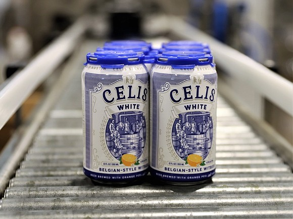Celis Brewery is now distributing Celis White, the legendary witbier created by Pierre Celis in 1965, packaged in aluminum cans ...