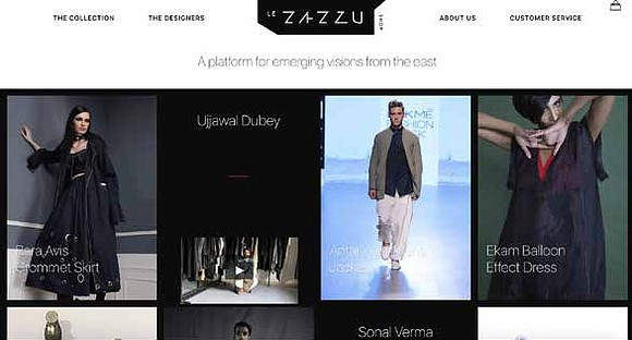"LeZazzu.shop keeps its highly curated collections and philanthropic mission at the forefront. ""When you shop here, you discover unique pieces ..."