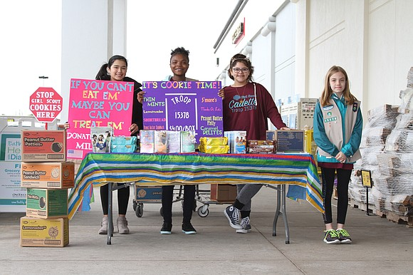 The annual Girl Scout Cookie Sale is coming to a close March 25, so pick up your favorites while you ...