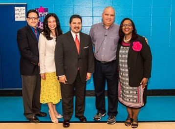 It was a day full of surprises on Thursday as Superintendent Richard Carranza, Chief Academic Officer Grenita Lathan and school ...