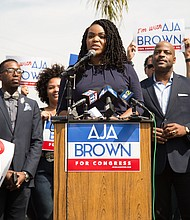 Aja Brown photo courtesy Kern Lawrence