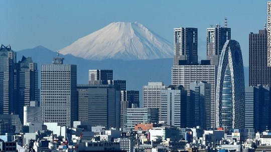 Interest rates are rising in many of the world's major developed economies, with one big exception: Japan.