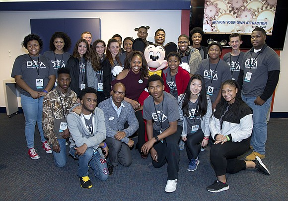 Youth listened to inspirational speakers and got the chance to experience their future careers on second day of the Disney ...