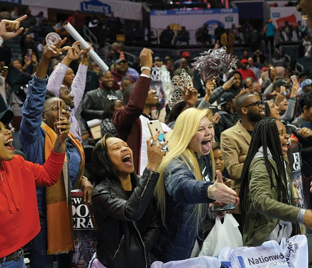 CIAA spirit // Friends, fans and fun reign supreme at the annual CIAA Tournament held in Charlotte, N.C.