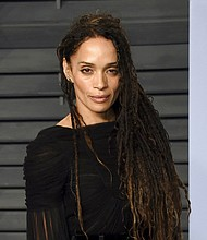 Lisa Bonet arrives at the 2018 Vanity Fair Oscar Party in Beverly Hills, Calif. (Photo by Evan Agostini/Invision/AP, File)