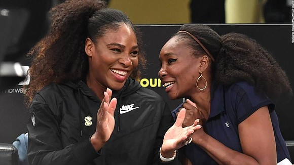 Serena and Venus Williams won't be meeting in a grand slam Monday and their match won't be a final, either. ...