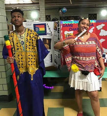 Students at Betty Shabazz Academy recently participated in the third annual Living Wax Museum at the school. Students were tasked ...