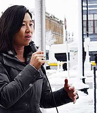City Councilor Michelle Wu.