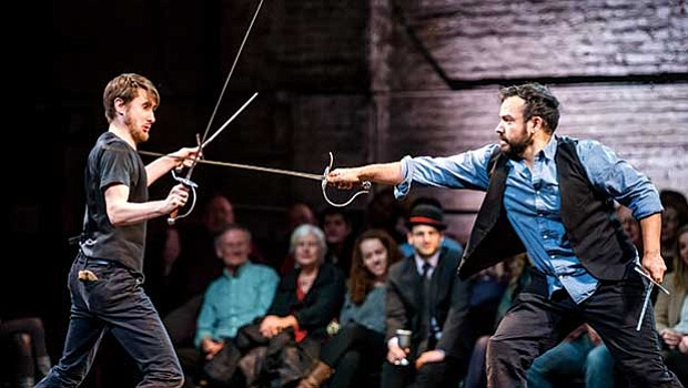 "Bedlam presents ""Hamlet"" at the Emerson Cutler Majestic Theatre."