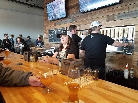 Shorewood's first micro-brewery finally opened and record crowds turned out to taste their first offerings.