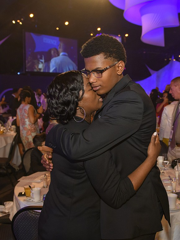 Teens bid an emotional farewell at the commencement ceremony on the final day of the Disney Dreamers Academy with Steve ...