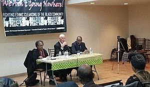 """We Ain't Going Nowhere! The Ethnic Cleansing of the Black Community."""""""
