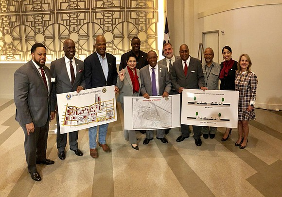 Harris County Commissioner Rodney Ellis and Houston Mayor Sylvester Turner on March 13 announced a joint agreement in which Precinct ...