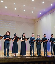 Uplifting its mission to affirm the worth of all people, Portland's Gay Men's Chorus will feature special guest artists, the Beijing Queer Chorus, during two 'Pacific Voices' concerts, Saturday and Sunday, March 17-18 at Kaul Auditorium at Reed College in southeast Portland.