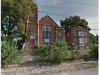Former Mizpah Presbyterian Church in Highland Park