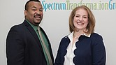 Cedric and Melinda Moore are owners of Spectrum Transformation Group, which they started in 2010.