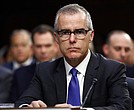 In this June 7, 2017 file photo, acting FBI Director Andrew McCabe appears before a Senate Intelligence Committee hearing about the Foreign Intelligence Surveillance Act on Capitol Hill in Washington. (AP Photo/Alex Brandon, File)