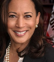 The NNPA honored Senator Kamala Harris (D-Calif.) with the 2018 Newsmaker of the Year Award, during a recent event on Capitol Hill. Harris is the second African American woman senator in United States history. (Official Photo)