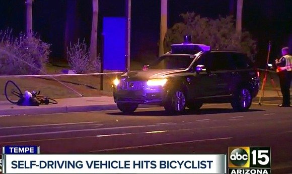 A fatal pedestrian crash involving a self-driving Uber SUV in a Phoenix suburb could have far-reaching consequences for the new ...