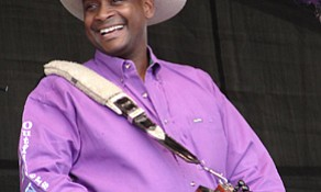 Geno Delafose & French Rockin Boogie are just one of many bands performing at the  2018 Downtown Lake Charles Crawfish Festival