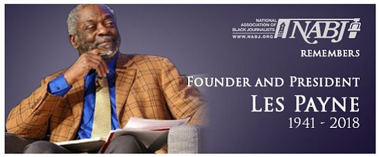 The National Association of Black Journalists (NABJ) honors the legacy of NABJ Founder and former President Les Payne - an ...